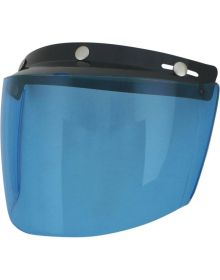 AFX Flip Three-Snap Visor Blue