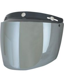 AFX Flip Three-Snap Visor Silver