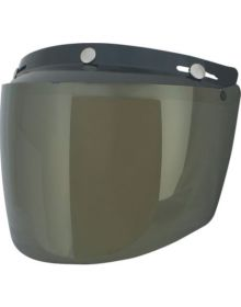 AFX Flip Three-Snap Visor Gold