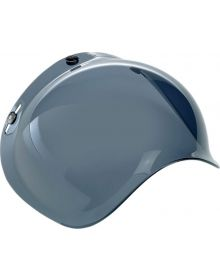 Biltwell Bubble Shield 3-Snap Smoke