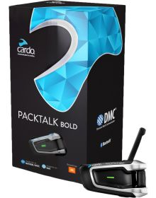 Cardo Scala Rider Packtalk Bold 4.1 W/JBL Single Intercom System
