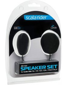 Cardo Scala Rider 40mm Thin Intercom Speakers