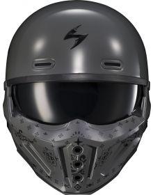 Scorpion Covert-X Helmet Face Mask Bandana Cement Grey