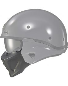 Scorpion Covert-X Helmet Face Mask Cement Grey