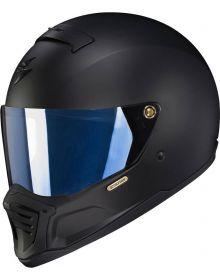 Scorpion EXO-HX1 Helmet Shield Blue Mirrored