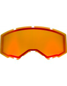 Fly Racing 2020 Snow Non-Vented Goggle Lens Red Mirror/Amber