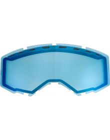 Fly Racing 2020 Snow Vented Goggle Lens Blue Mirror/Smoke