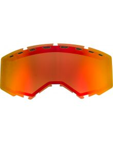 Fly Racing 2020 Snow Vented Goggle Lens Red Mirror/Bronze
