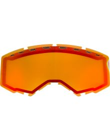 Fly Racing 2020 Snow Vented Goggle Lens Red Mirror/Amber