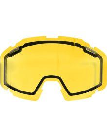 FXR 2018 Pilot Snow Goggle Dual Lens Yellow