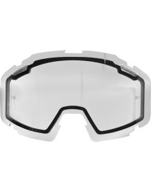 FXR 2018 Pilot Snow Goggle Dual Lens Clear W/Post