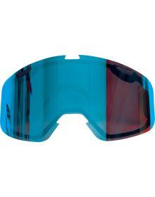 FXR 2018 Core/Boost XPE Snow Goggle Dual Lens Crimson Saphire