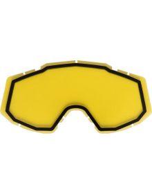 Castle X Trace Dual Pane Lens Yellow