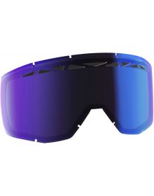 Scott Hustle Thermal ACS Lens Blue Chrome Fits: Scott Split OTG