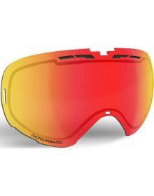 509 Revolver Snowmobile Goggle Lens Photochromatic - Orange to Dark Blue with Fi