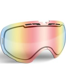 509 Revolver Snowmobile Goggle Lens Fire Mirror/Clear