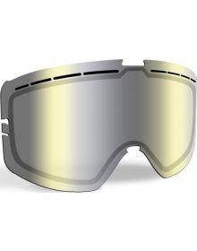 509 Kingpin Snowmobile Goggle Lens Chrome/Yellow