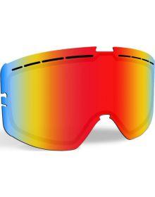 509 Kingpin Snowmobile Goggle Lens Fire Mirror/Rose