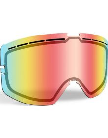 509 Kingpin Snowmobile Goggle Lens Fire Mirror/Clear