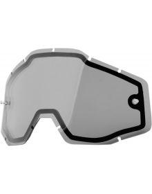 100% Accuri/Racecraft Replacement Dual Pane Lens Smoke