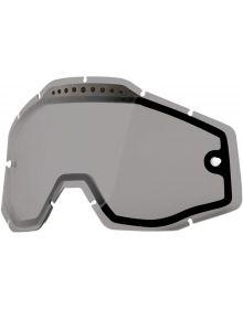 100% Dual-Pane Vented Goggle Lenses Smoke Anti-Fog