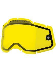 100% Accuri2/Racecraft2/Strata2 Replacement Dual Pane Vented Lens Yellow