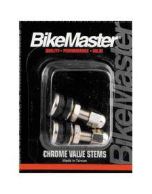 BikeMaster Chrome Valve Stems 2 Pack