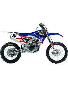 D'Cor Visuals MXDN Yamaha Graphic Kit YZ250F/450F (14-15) - White