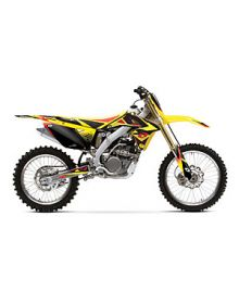One Industries 2010 Delta Tank And Shroud Graphics - RMZ250 2010