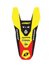 One Industries 2012 Rear Fender Decal - Suzuki RMZ250 (10-12)