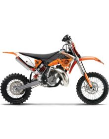 One Industries 2012 Orange Brigade Graphics Kit - KTM SX85 (06-12)