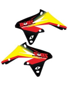 One Industries Bobs Cycle Graphic Kit - Suzuki RMZ450 08-18
