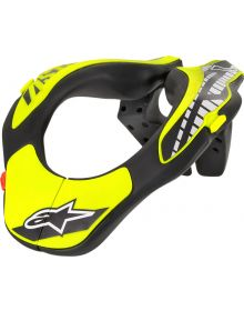 Alpinestars Youth Neck Support Black/Yellow Fluo