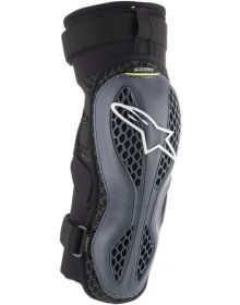 Alpinestars Sequence Knee Guards Anthracite/Fluo Yellow