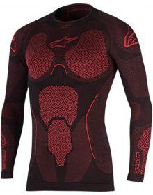 Alpinestars Ride Tech Long Sleeve Summer Shirt Black/Red