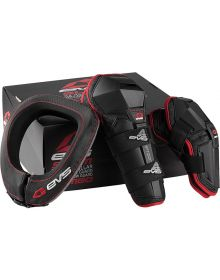 EVS Slam Combo Protection R2 Collar/Option Knee/Elbow Guards Youth