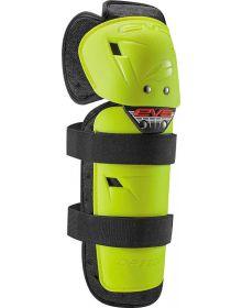 EVS Option Adult Knee Guards Hi Vis