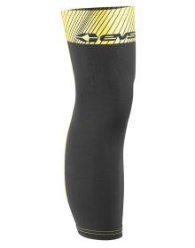 EVS Knee Brace Undersleeve Protector Pair Black/Hi-Vis