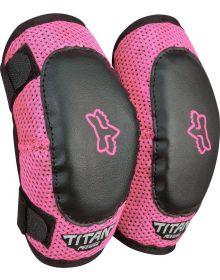 Fox Racing Titan Youth Elbow Guard Black/Pink