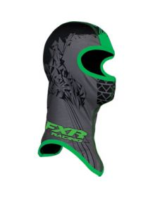 FXR Shredder Face Mask Black/Green