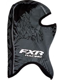 FXR Shredder Balaclava Black/White