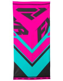 FXR Dif Shield Neck Gator CX Fuchsia/Mint