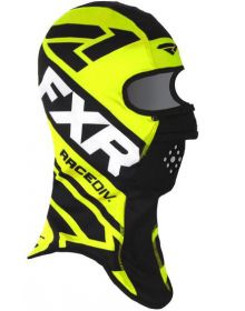 FXR Cold Stop RR Balaclava Black/Hi Vis