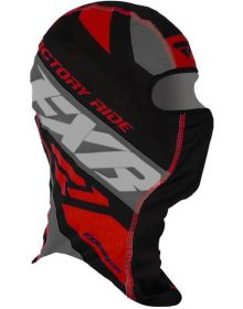 FXR Boost Balaclava Black/Red/Charcoal
