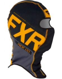 FXR Boost Balaclava Black/Orange/Charcoal