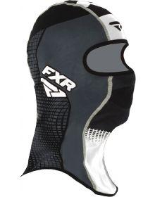 FXR Shredder Tech Balaclava Black/Charcoal/White