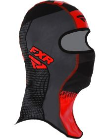 FXR Shredder Tech Balaclava Black/Charcoal/Red
