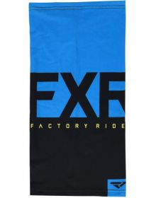 FXR Helium Lite Neck Gator Black/Blue