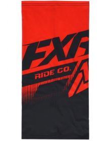 FXR Cold Stop Neck Gator Black/Red