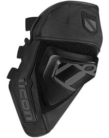 Icon Street Cloverleaf Knee Pads Black